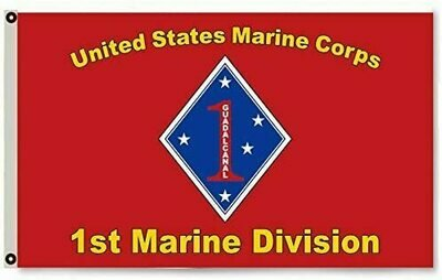 1ST MARINE DIVISION FLAG