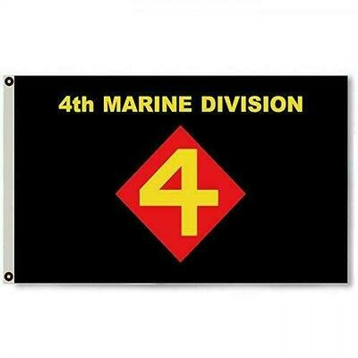 4TH MARINE DIVISION FLAG