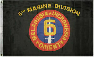 6TH MARINE DIVISION FLAG