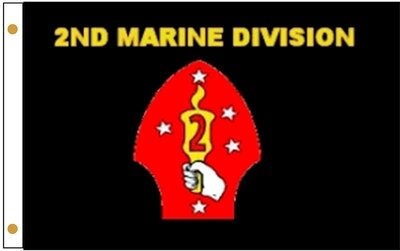 2ND MARINE DIVISION FLAG