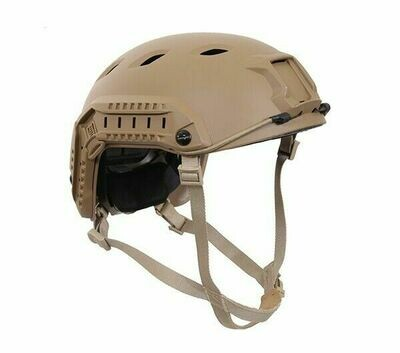 USED COYOTE TAN NON-BALLISTIC HIGHCUT AIRSOFT HELMET
