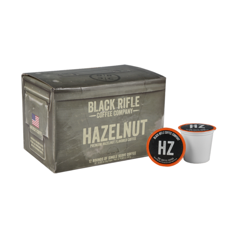 HAZELNUT 12 ROUND COFFEE
