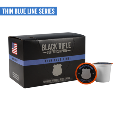 THIN BLUE LINE 12 CT OF COFFEE