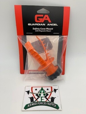 GUARDIAN ANGEL SAFETY CONE MOUNT W/ MAGNETIC MOUNT