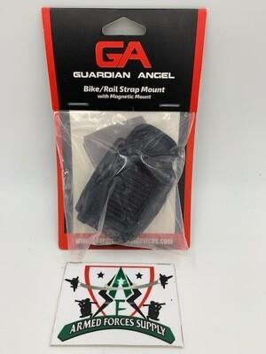 GUARDIAN ANGEL BIKE/RAIL STRAP MOUNT W/ MAGNETIC MOUNT