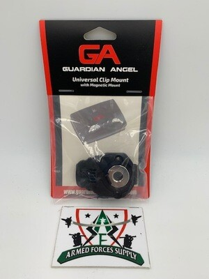 GUARDIAN ANGEL UNIVERSAL CLIP MOUNT W/ MAGNETIC MOUNT