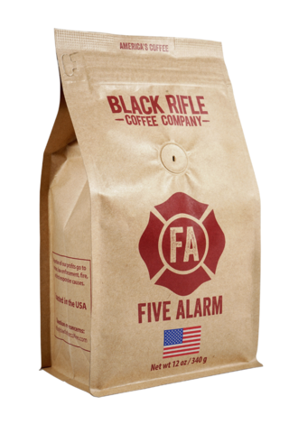 FIVE ALARM 12 OZ GROUND COFFEE