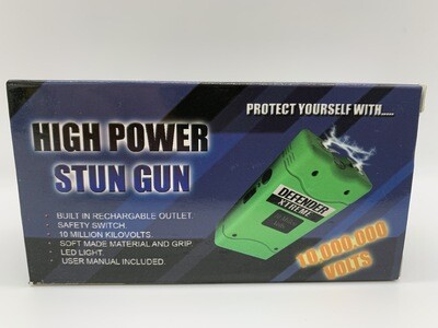 10 Million Kilovolts High Power Stun Gun