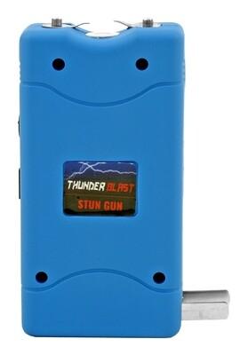 BLUE THUNDER BLAST RECHARGEABLE STUN GUN FLASHLIGHT