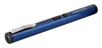 BLUE PEN SHAPED RECHARGEABLE STUN GUN TAZER