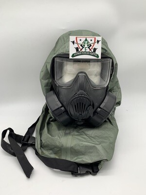 Avon M50 Gas Mask Protective Chemical Hood Size Small - Medium                      NSN# 4240-01-528-9286 P/N 71013/1 Brand New!