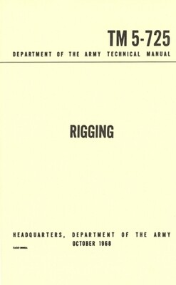 RIGGING MANUAL FM 5-725