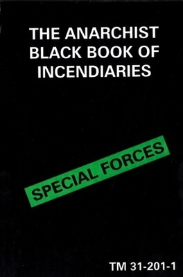 BLACK BOOK OF INCENDIARIES TM 31-201-1