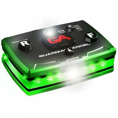 GUARDIAN ANGEL GREEN/GREEN SAFETY LIGHT