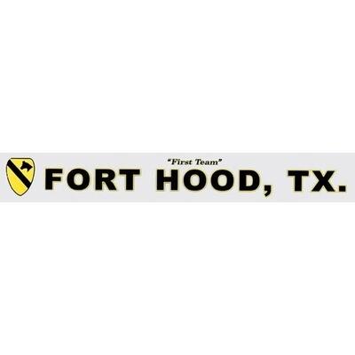 FORT HOOD TEXAS WINDOW STRIP