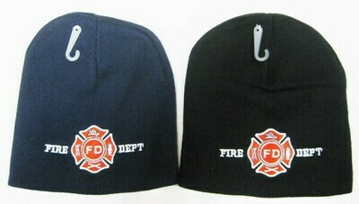 FIRE DEPARTMENT LOGO BEANIE