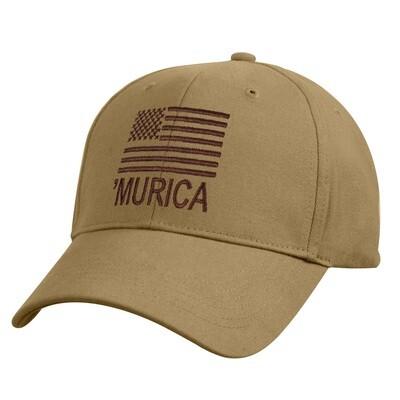 COYOTE 'MURICA BALL CAP