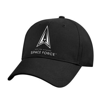 BLACK SPACE FORCE CAP
