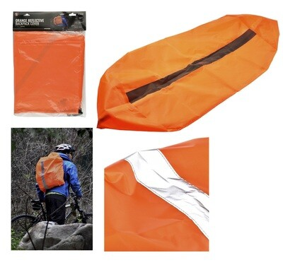 """28"""" x 17 1/2"""" x 7"""" BACKPACK COVER W/REFLECTIVE STRIP"""