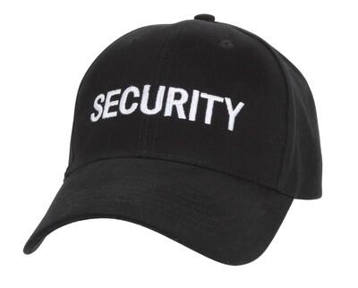 BLACK & WHITE SECURITY LOW PRO CAP