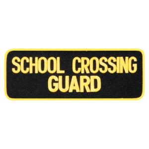 "4""x11"" SCHOOL CROSSING GUARD PATCH"