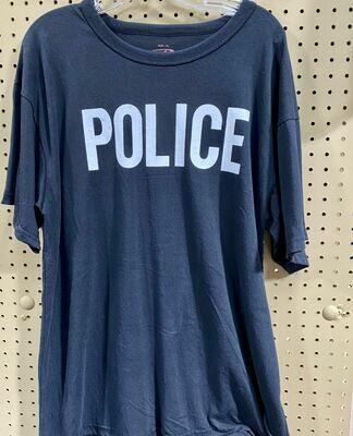 POLICE BLACK T-SHIRT