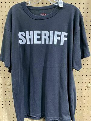 BLACK SHERIFF TSHIRT
