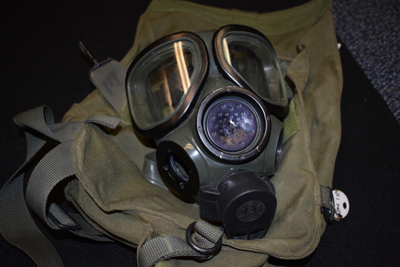 MILITARY M40/M42 M40A1 M-1 GAS MASK
