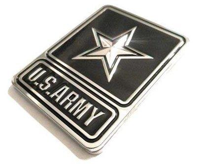 U.S. Army Full Metal Car Emblem