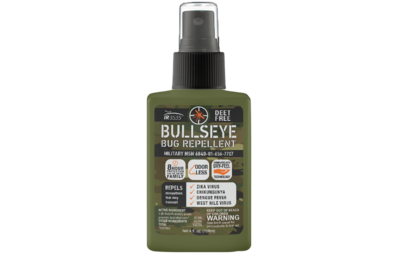 Bullseye Bug Repellent Spray - DEET free