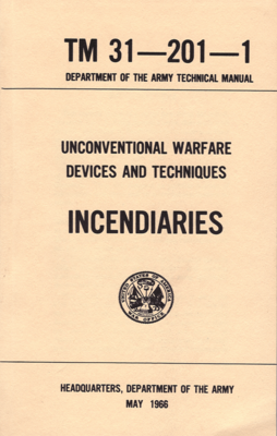 UNCONVENTIONAL WARFARE DEVICES AND TECHNIQUES