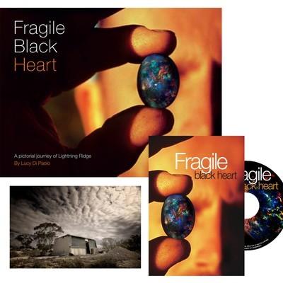 Fragile Black Heart book + DVD