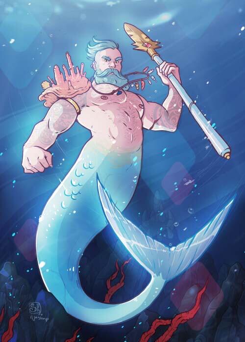 """Открытка """"Нептун"""""""