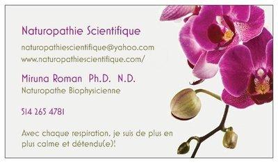 Consultation initiale en naturopathie (2h par Skype ou en personne) ou tutorat