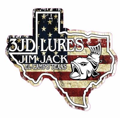 3JD Sticker