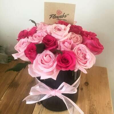 Ixchel - Rosas en cristal