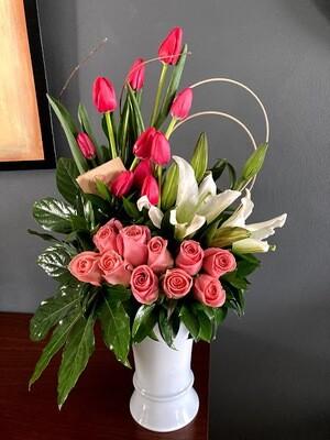 Idun - Tulipanes, lilis y rosas