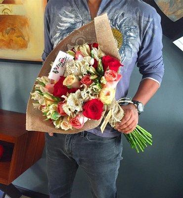 Bouquet Rosas combinadas