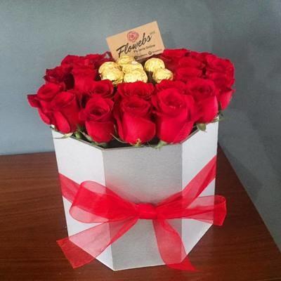 Coliseo - Rosas y Chocolates