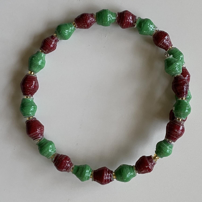 Noel Memory Wire Bracelet