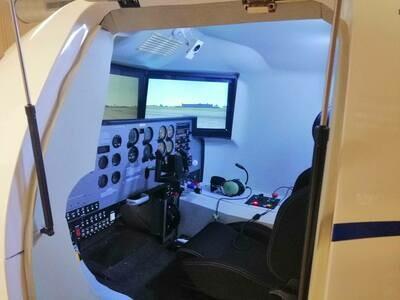 1 heure de Simulateur de vol