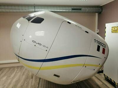 15 minutes de simulateur de vol