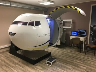 30 minutes de simulateur de vol