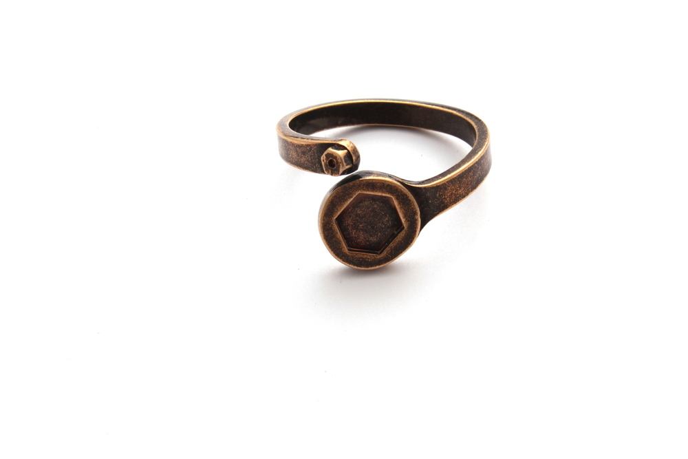 Anello Garage Yellow Gold Vintage