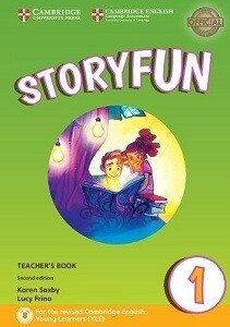 1 клас НУШ Storyfun for 2nd Edition Starters Level 1 Teachers Book with Audio Книга для вчителя до Storyfun. Рівень 1 Cambridge University Press (9781316617069)