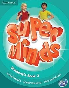 3 клас НУШ Super Minds 3 Student's Book with DVD-ROM including Lessons Plus for Ukraine Cambridge University Press (2000096220762)