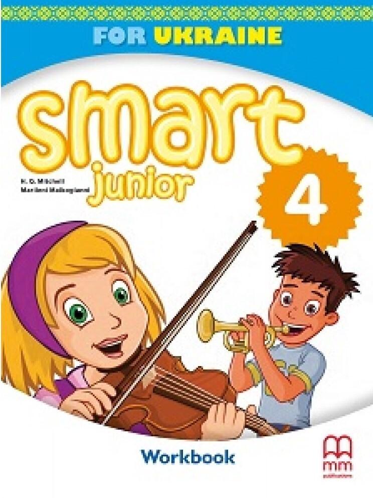 НУШ 4 клас. Англійська мова. Smart Junior 4. Workbook (+ CD-ROM). Робочий зошит. Мітчелл Г. Лінгвіст 9786180555455