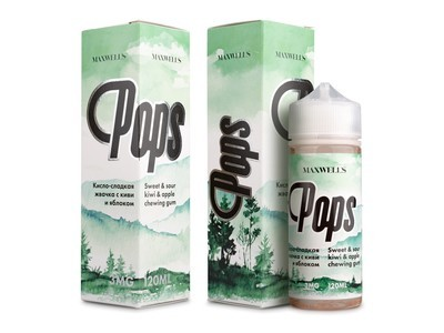 ЖИДКОСТЬ MAXWELLS: POPS 120ML