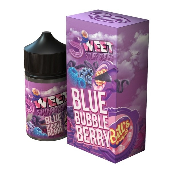BILL'S E-lIQUID: BLUE BUBBLE BERRY 73ML