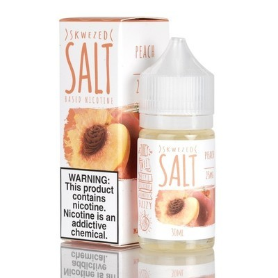 ЖИДКОСТЬ SKWEZED SALT: PEACH 30ML